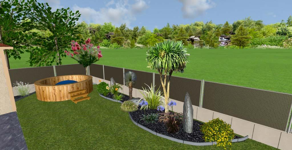Conception 3D de votre jardin