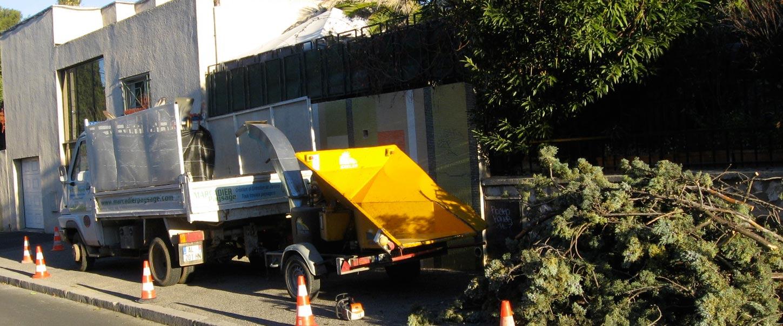 Évacuation des déchets verts